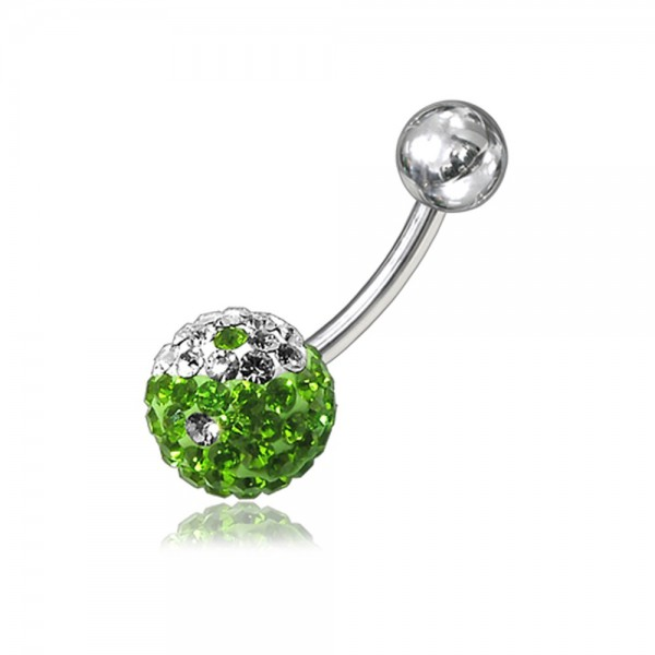 Buy Crystal Stone Navel Body Jewelry Ring FDBLY051 online