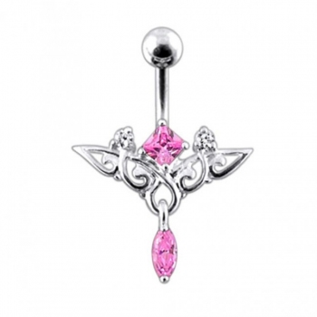 Buy Moving Trendy Jeweled Navel Ring online