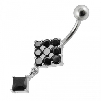 Buy Moving Fancy Jeweled Navel Ring online