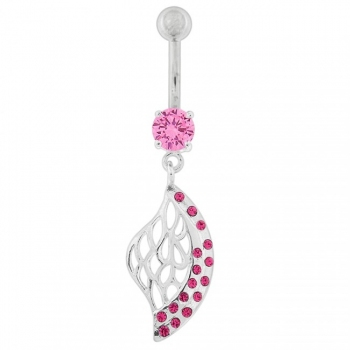 Buy Multi Jeweled Net Dangling Belly Button Ring online