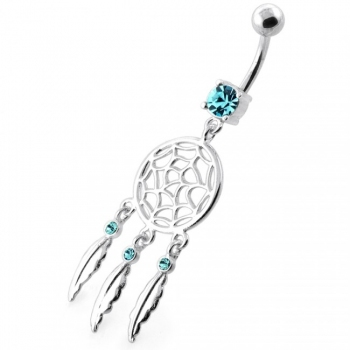 Buy Classic Dream Catcher belly button bars online