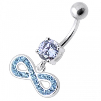 Buy Infinity Sign Jeweled Belly Ring online