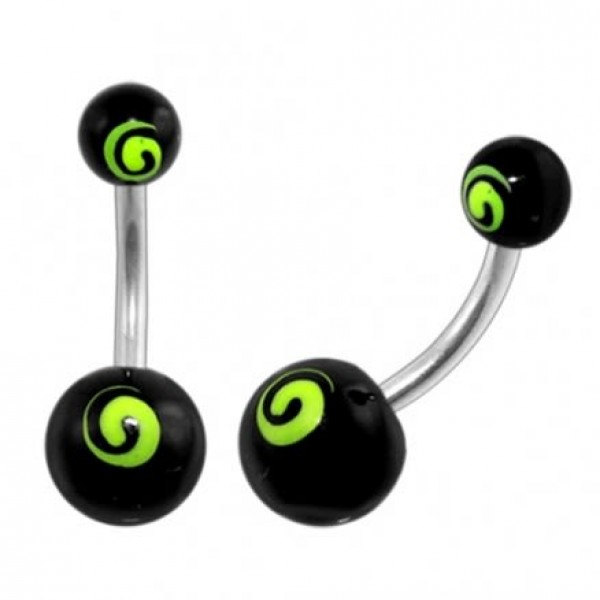 Buy Belly Banana with Green Spiral Ball online