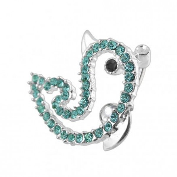 Buy Reverse Bar Dolphin Belly Ring online