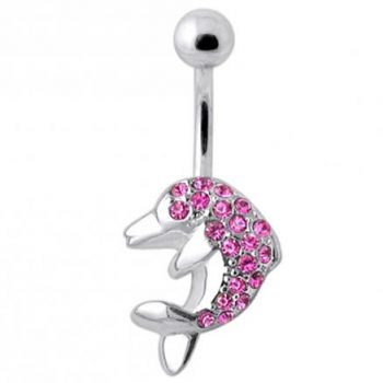 Buy Dolphin Silver Belly Ring online