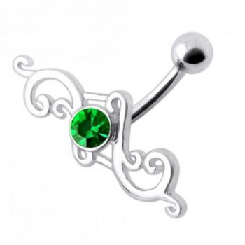 Buy Tribal Silver Belly Ring online