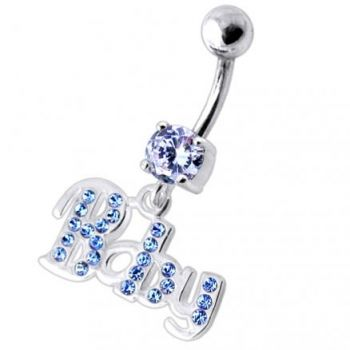 Buy Fancy BABY Jeweled Dangling Belly Ring online