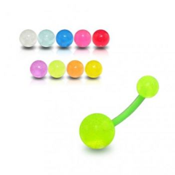Buy Fancy Green Color UV Belly Banana with UV Balls BAN452 online