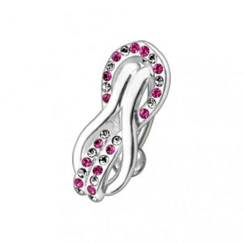 Buy Fancy Multi Jeweled Reverse Non-Moving Curved Bar Belly Ring online