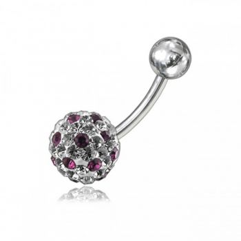 Buy Crystal Stone Belly Ring FDBLY065 online