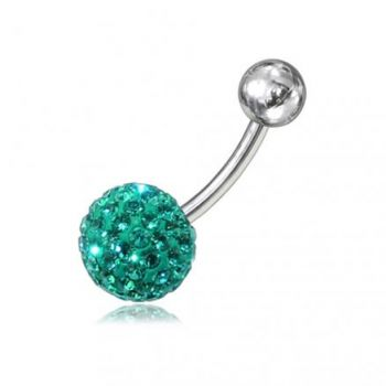 Buy Crystal Stone Belly Ring Body Jewelry online