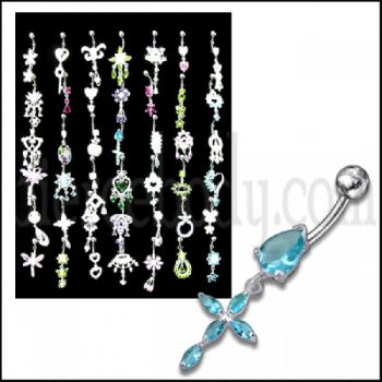 Buy Dangling Belly rings with Display online