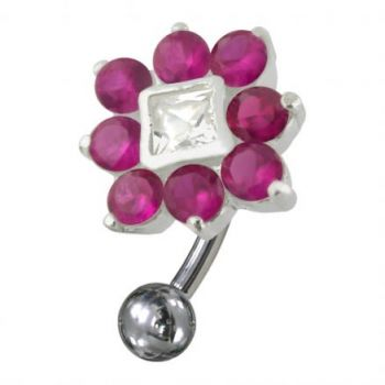 Buy Jeweled Non-Moving Reverse Belly Ring online