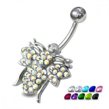 Buy Jeweled Fly Belly Ring online