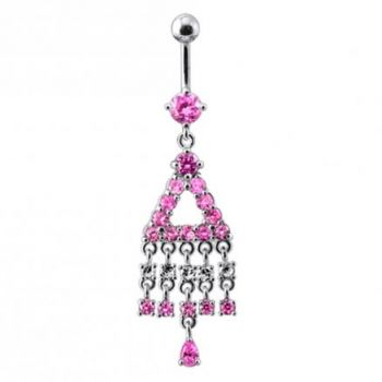 Buy Traditional Jeweled Dangling Belly Ring online