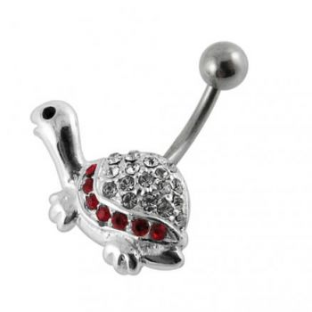 Buy Tiny Turtle Non-Moving Belly Ring online