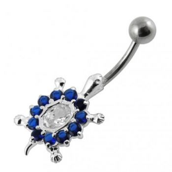 Buy Jeweled Turtle Belly Button Ring online