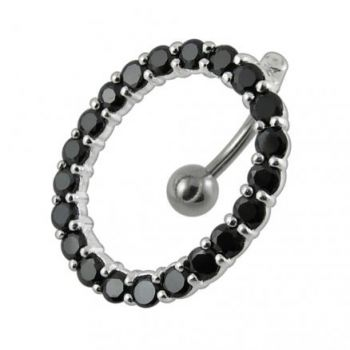 Buy Moving Fancy Jeweled Belly Ring online
