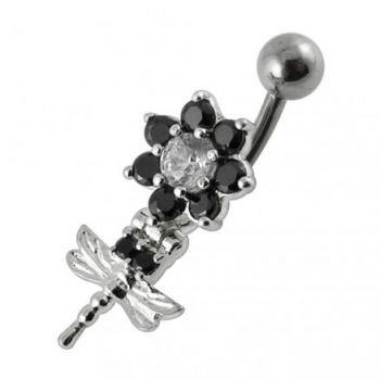 Buy Moving Fancy Jeweled Belly Button Ring online