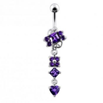 Buy Moving Jeweled Fancy Belly Button Ring online