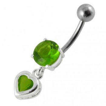 Buy Moving Jeweled Belly Ring online