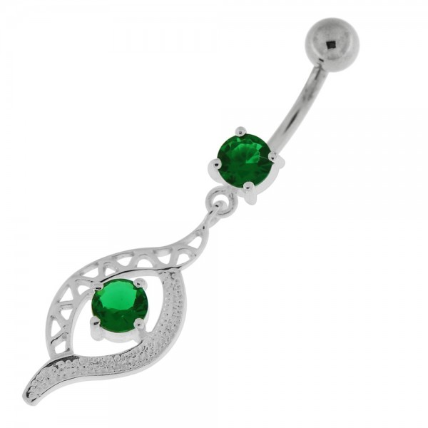Buy Jeweled Eye Navel Belly Button Ring online