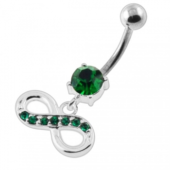 Buy Jeweled Infinity Navel Belly Button Piercing online