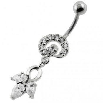 Buy Fany Multi Jeweled Navel Belly Button Piercing online