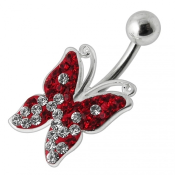 Buy Butterfly Silver Navel Ring online