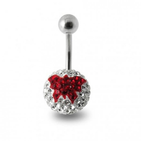 Buy Butterfly Crystal stone Navel Ring online