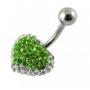 Crystal Stone Belly Bars